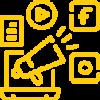 socmed advert team icon